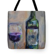 A Good Pour Tote Bag by Donna Tuten