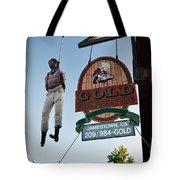 A Hanged Man In Jamestown Tote Bag by RicardMN Photography