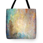 A Heart So Big - Abstract Art Tote Bag by Jaison Cianelli