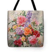 A High Summer Bouquet Tote Bag by Albert Williams