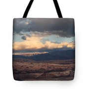 A Light in the Distance Tote Bag by Laurie Search