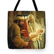 A Light To The Gentiles Tote Bag by Greg Olsen
