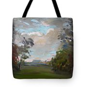 A Little Break From The Rain Tote Bag by Ylli Haruni