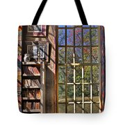 A Look From The Library Tote Bag by Susan Candelario