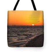 A New Day Tote Bag by Kim Hojnacki