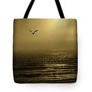 A Newport Oregon Sunset Tote Bag by Diane Schuster