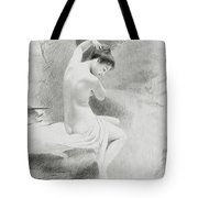 A Nymph Tote Bag by Charles Prosper Sainton