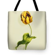 A Parrot Tulip Tote Bag by James Holland