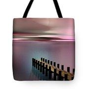 A Perfect Calm Tote Bag by Barbara Milton