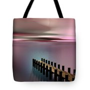 A Perfect Calm Tote Bag by Barbara Milton