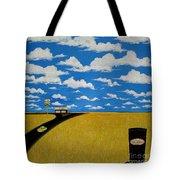 A Prairie Sky Tote Bag by John Lyes