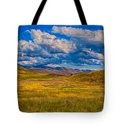 A River Ran Through It Tote Bag by Omaste Witkowski