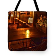 A Single Candle Burns. Tote Bag by Paul Ward
