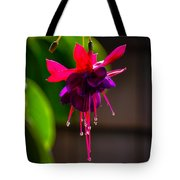 A Special Red Flower Tote Bag by Gandz Photography