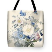 A Spray Of Summer Flowers Tote Bag by Louise D Orleans
