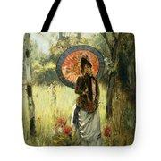 A Summer Stroll Tote Bag by Albert Lynch