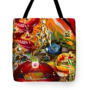A Taste Of Healing Tote Bag by Deprise Brescia