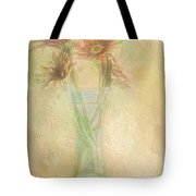 A Vase Of Gerbera Daisies In the Sun Tote Bag by Diane Schuster