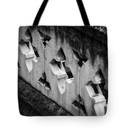 A Wall Between Gardens Tote Bag by Christi Kraft