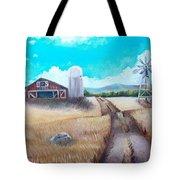 A Warm Welcome Tote Bag by Shana Rowe Jackson