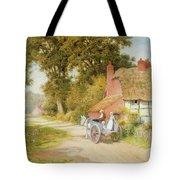 A Warwickshire Lane Tote Bag by Arthur Claude Strachan