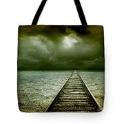 A Way Out Tote Bag by Photodream Art