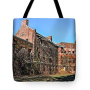 Abandoned Asylum Tote Bag by Bill Cannon