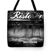 Abandoned Restaurant Tote Bag by Dave Bowman