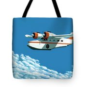 Above It All  The Grumman Goose Tote Bag by Gary Giacomelli