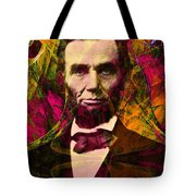 Abraham Lincoln 2014020502 Tote Bag by Wingsdomain Art and Photography