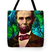 Abraham Lincoln 2014020502p145 Tote Bag by Wingsdomain Art and Photography