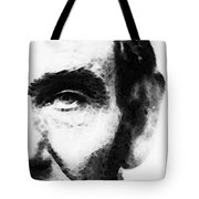 Abraham Lincoln - An American President Tote Bag by Sharon Cummings