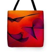 Abstract 130 Tote Bag by Carol Sullivan