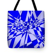Abstract 152 Tote Bag by J D Owen