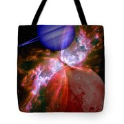 Abstract 168 Tote Bag by J D Owen