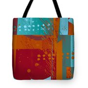 Abstract 203 Tote Bag by Ann Powell