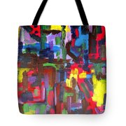 Abstract 213 Tote Bag by Patrick J Murphy