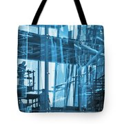 Abstract Architecture Tote Bag by Carlos Caetano