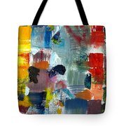 Abstract Color Relationships Lv Tote Bag by Michelle Calkins