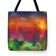 Abstract - Crayon - Utopia Tote Bag by Mike Savad
