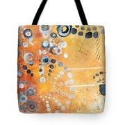 Abstract Decorative Art Original Circles Trendy Painting By Madart Studios Tote Bag by Megan Duncanson