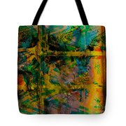 Abstract - Emotion - Facade Tote Bag by Barbara Griffin