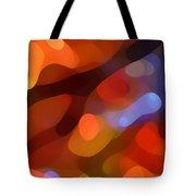 Abstract Fall Light Tote Bag by Amy Vangsgard