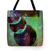 Abstract - Floaters Tote Bag by Liane Wright