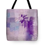 Abstract Floral - A8v4at1a Tote Bag by Variance Collections