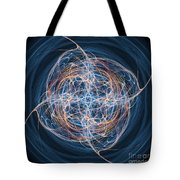 Abstract Fractal Background 08 Tote Bag by Antony McAulay