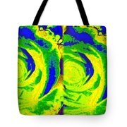 Abstract Fusion 195 Tote Bag by Will Borden