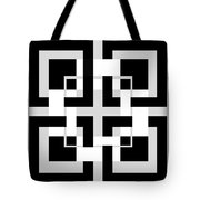 Abstract Geometric  Tote Bag by Mark Ashkenazi