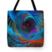Abstract Jet Propeller Tote Bag by Andee Design