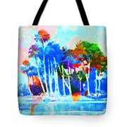 Abstract Map Tote Bag by Gary Grayson